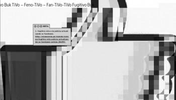 Fugitivo Feisbukero BW Glitch